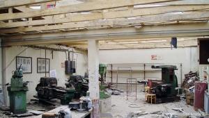 Rekonstrukcija krova radionica