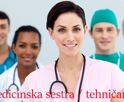 Medicinska sestra – medicinski tehničar